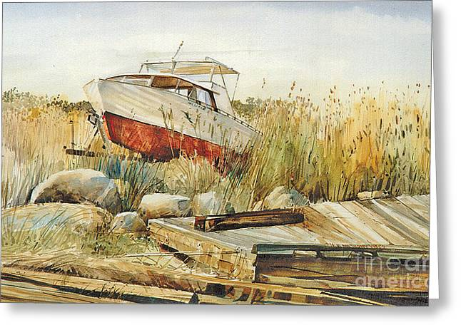 Old Relics Paintings Greeting Cards - Pasturized Greeting Card by P Anthony Visco