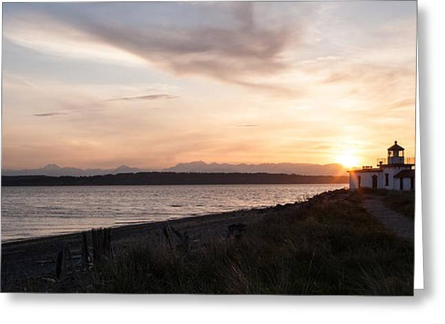 Path To The Point Greeting Card by Mike Reid