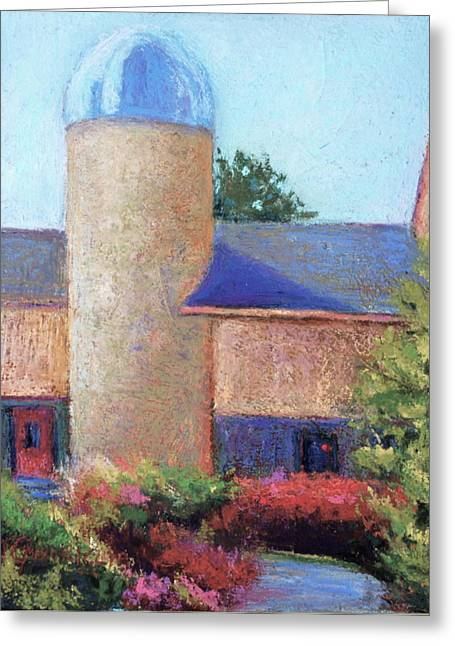 Pa Pastels Greeting Cards - Path to the SILO Greeting Card by Joyce A Guariglia