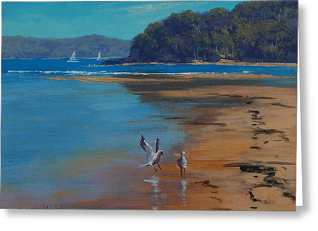 Central Coast Greeting Cards - Patonga Beach Australia Greeting Card by Graham Gercken