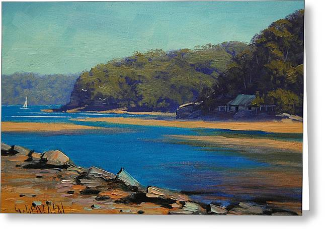 Central Coast Greeting Cards - Patongs creek Australia Greeting Card by Graham Gercken