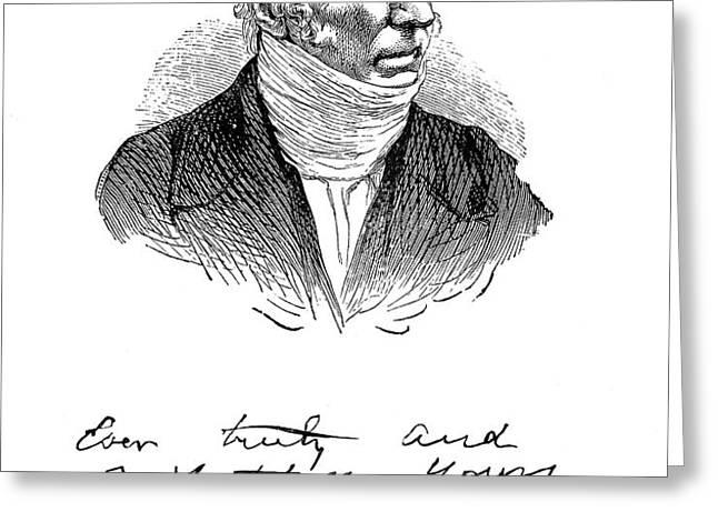 PATRICK BRONT� (1777-1861) Greeting Card by Granger