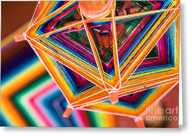 Bhutanese Art Greeting Cards - Patterns II Greeting Card by Irene Abdou