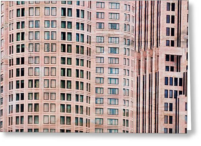 Window Of Life Greeting Cards - Patterns of City Life 1 Greeting Card by Mary Machare