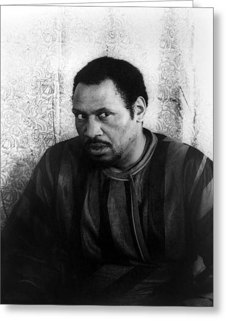 Othello Greeting Cards - Paul Robeson (1898-1976) Greeting Card by Granger