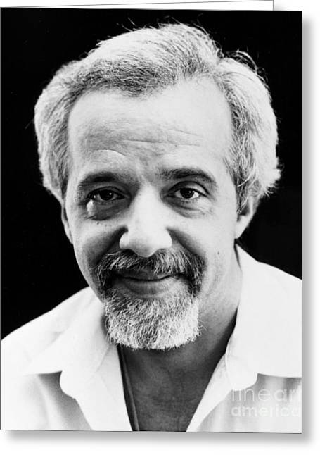 1992 Greeting Cards - Paulo Coelho (1947- ) Greeting Card by Granger