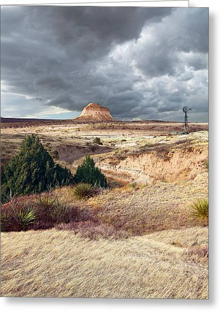 Luminist Greeting Cards - Pawnee Grasslands Greeting Card by Ric Soulen