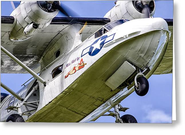 Pby Catalina Greeting Cards - PBY Catalina Miss Pick Up Greeting Card by Tim Croton