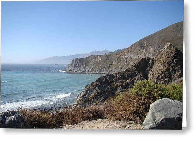 Pch Greeting Cards - PCH Overlook Greeting Card by Martha Johnston