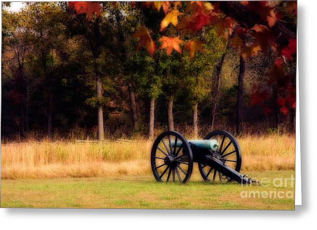 Pea Ridge Greeting Cards - Pea Ridge Greeting Card by Lana Trussell