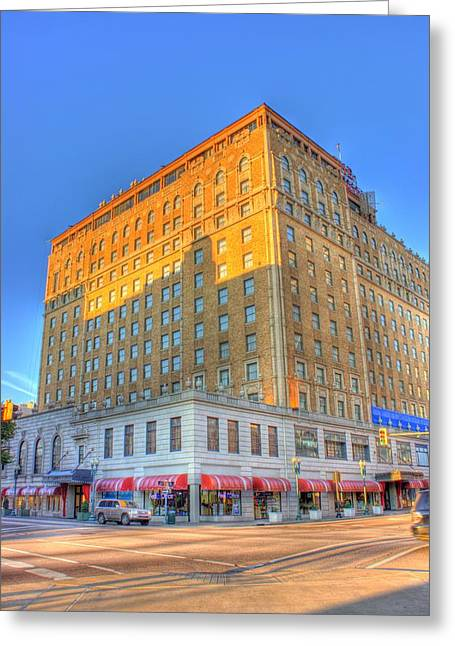 Tennessee Landmark Greeting Cards - Peabody Hotel Greeting Card by Barry Jones
