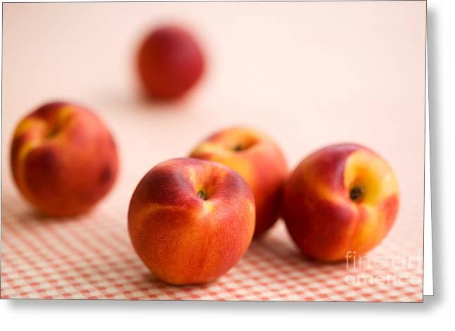Peaches  Greeting Card by Kati Molin
