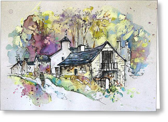Pealed Greeting Cards - Peak District 09 b Greeting Card by Miki De Goodaboom