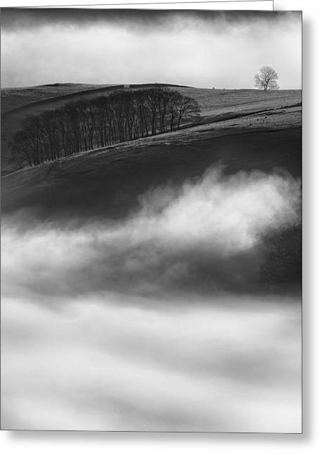 Castleton Greeting Cards - Peak District Landscape Greeting Card by Andy Astbury