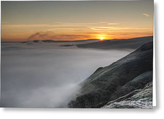 Peak District Sunrise Greeting Card by Andy Astbury