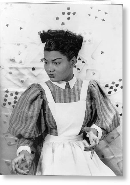 African Saint Greeting Cards - Pearl Bailey (1918-1990) Greeting Card by Granger
