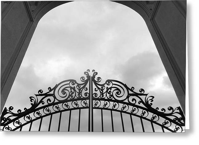 Pearly Gates Greeting Cards - Pearly Gates Greeting Card by Laura Hol Art