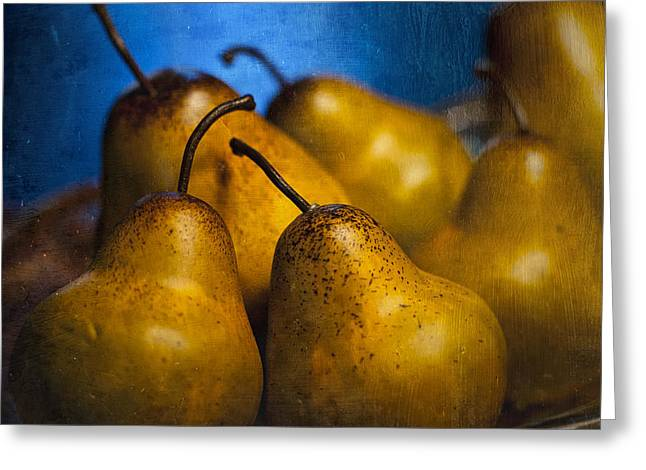 Pears Waiting Greeting Card by Scott Norris