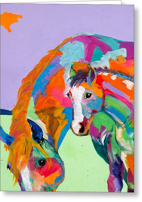 Colorado Artist Greeting Cards - Peek a Boo Greeting Card by Tracy Miller