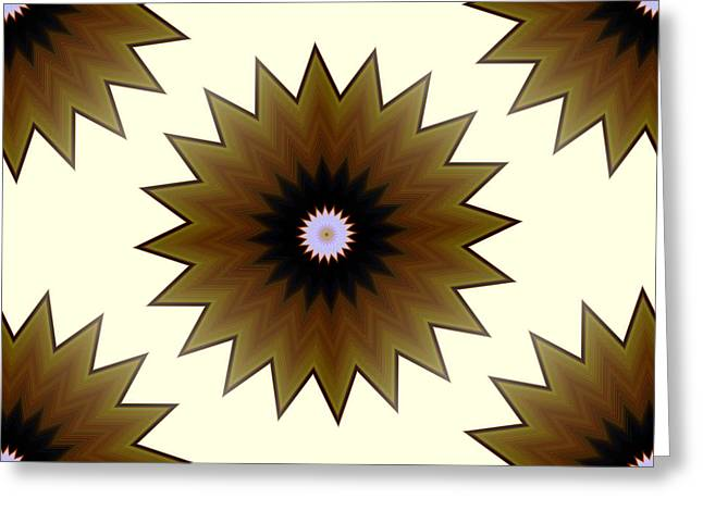 Abstract Style Greeting Cards - Pelias No.3 Greeting Card by Danny Lally