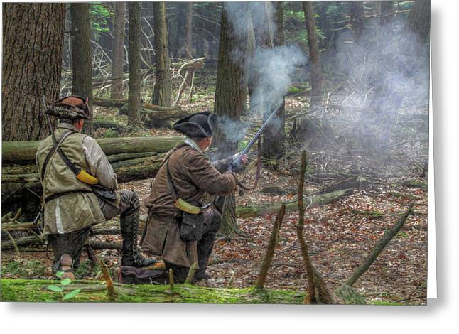 Rogers Rangers Greeting Cards - Pennsylvania Hunter Greeting Card by Randy Steele