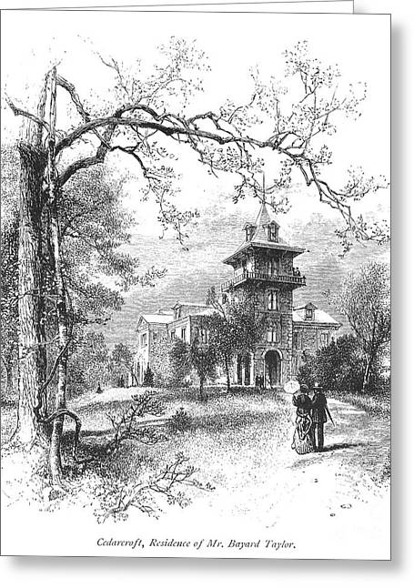 Pennsylvania: Mansion Greeting Card by Granger