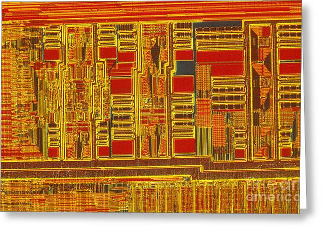 Processor Greeting Cards - Pentium Greeting Card by Michael W. Davidson