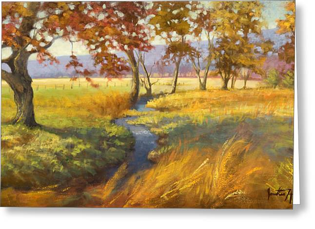 Jonathan Howe Greeting Cards - Perfect Afternoon Greeting Card by Jonathan Howe
