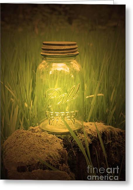 Ball Jars Greeting Cards - Perfect Mason Greeting Card by C E Dyer
