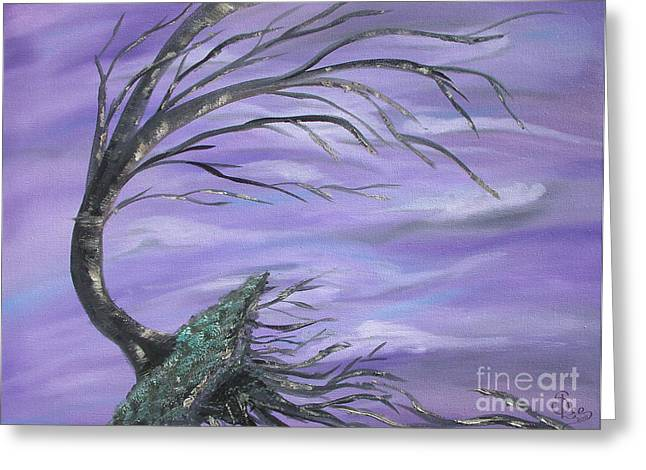 Perfect Storm Greeting Cards - Perfect Storm Greeting Card by Sesha Lee