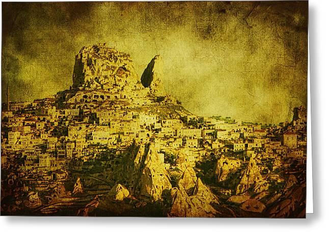 Frame House Digital Greeting Cards - Persian Empire Greeting Card by Andrew Paranavitana