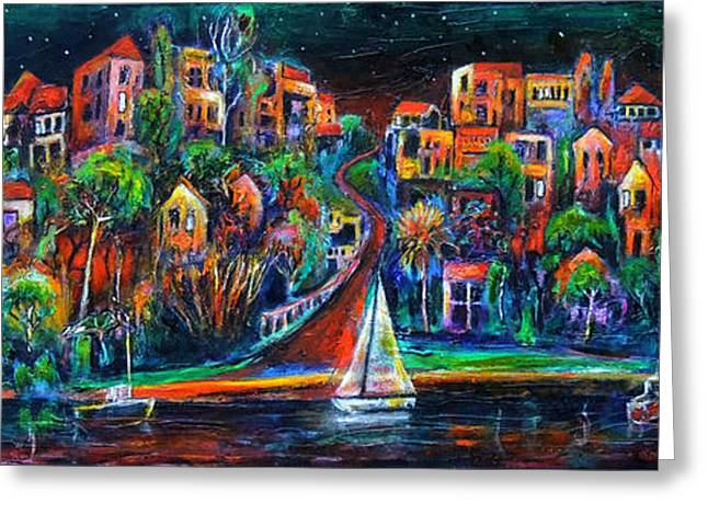 Jeremy Greeting Cards - Perth by night Greeting Card by Jeremy Holton