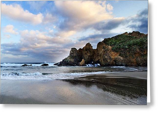 Pfeiffer Beach Greeting Cards - Pfeiffer Beach Greeting Card by Donovan Conway