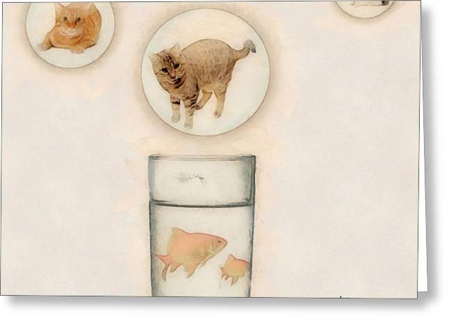 Phantasmagoria Greeting Card by Anthony Caruso