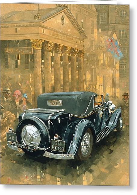 West End Greeting Cards - Phantom in the Haymarket  Greeting Card by Peter Miller