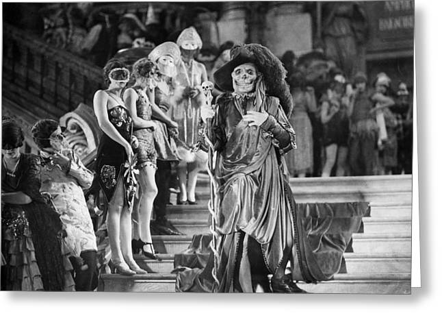Silent Film Greeting Cards - Phantom Of The Opera, 1925 Greeting Card by Granger