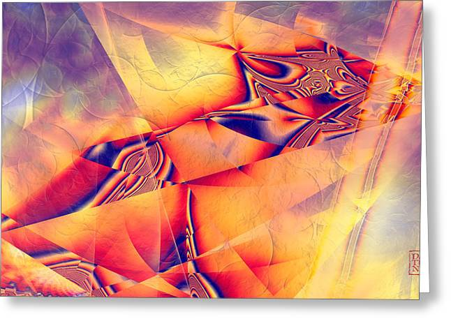 Pharaoh Digital Art Greeting Cards - Pharaohs Last Sunset Greeting Card by Dan Turner