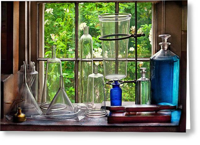 Present For You Greeting Cards - Pharmacy - Pharmaceuti-Tools Greeting Card by Mike Savad