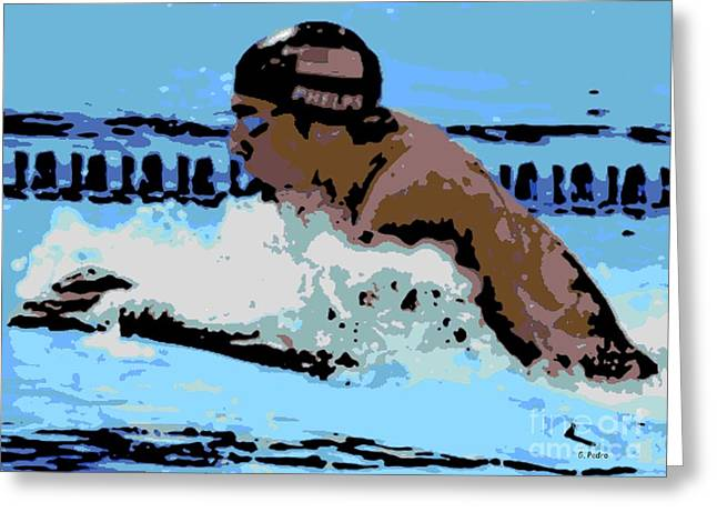 Phelps 2 Greeting Card by George Pedro