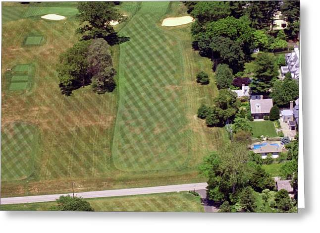 Philadelphia Cricket Club St Martins Golf Course 1st Hole 415 W Willow Grove Avenue Phila PA 19118 Greeting Card by Duncan Pearson