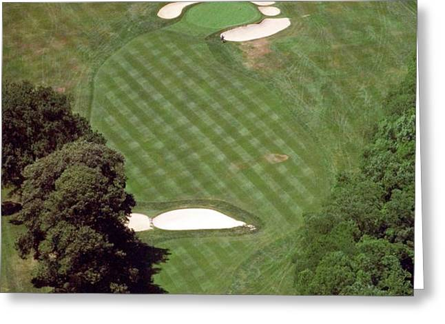 Philadelphia Cricket Club St Martins Golf Course 2nd Hole 415 W Willow Grove Ave Phila PA 19118 Greeting Card by Duncan Pearson
