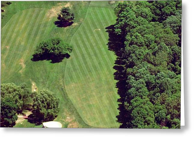 Philadelphia Cricket Club St Martins Golf Course 6th Hole 415 West Willow Grove Ave Phila PA 191118 Greeting Card by Duncan Pearson