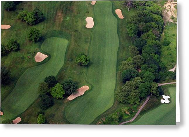 Philadelphia Cricket Club Wissahickon Golf Course 12th Hole Greeting Card by Duncan Pearson