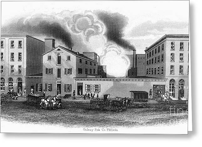 Recently Sold -  - Engraving Greeting Cards - Philadelphia: Distillery Greeting Card by Granger