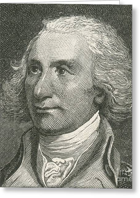 National Portrait Gallery Greeting Cards - Philip John Schuyler Greeting Card by Photo Researchers