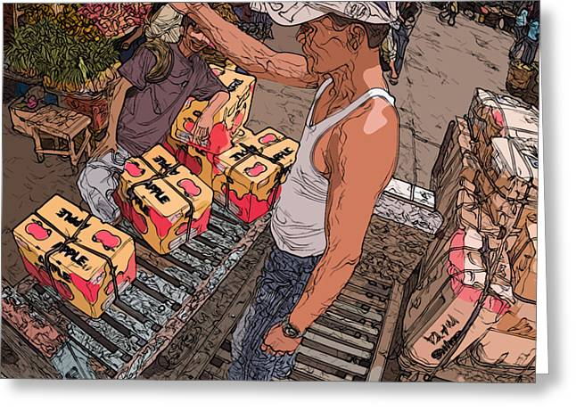 Philippines 3031 Muscles Greeting Card by Rolf Bertram