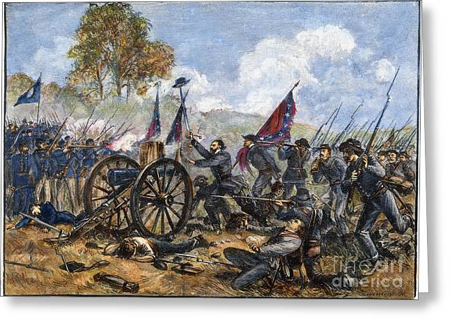 Picketts Charge, 1863 Greeting Card by Granger