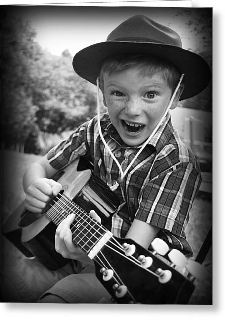Pickin' Greeting Card by Kelly Hazel