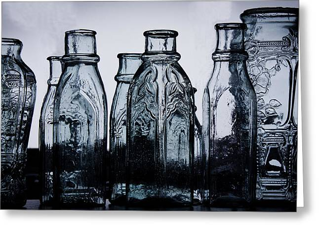 Pickling Greeting Cards - Pickle Jars Greeting Card by Robin R  Robinson