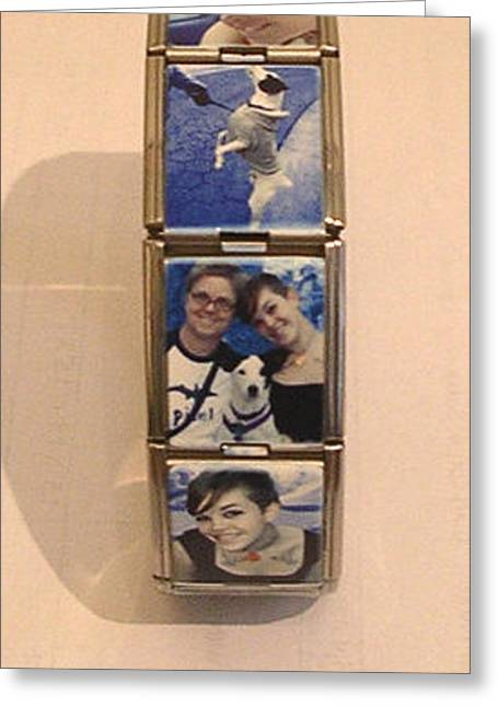 Photo Jewelry Greeting Cards - Picture Bracelet Greeting Card by Melaine Hofmann